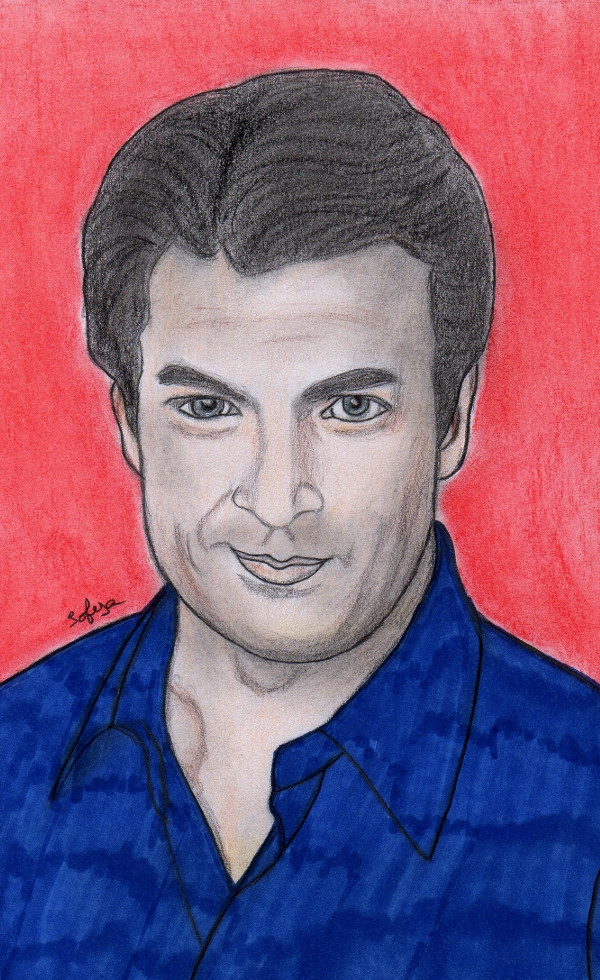 Nathan Fillion by Sofya